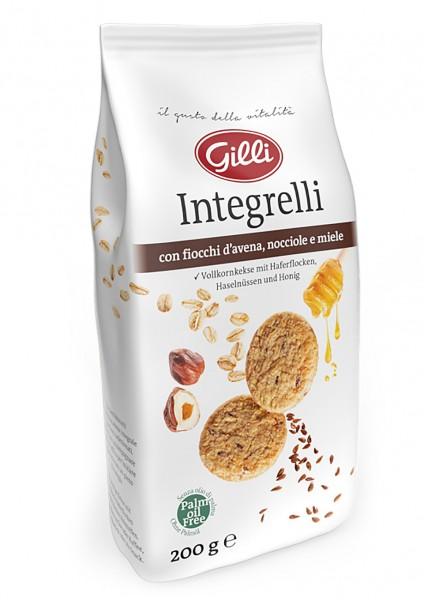 "Vollkornkekse ""Integrelli"", 200 g - Gilli"