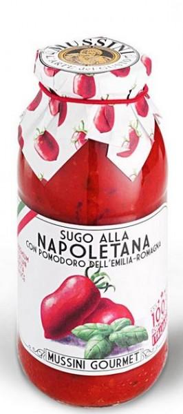 Mussini Sugo alla Napoletana - traditionelle Sugospezialität aus Neapel, 500ml
