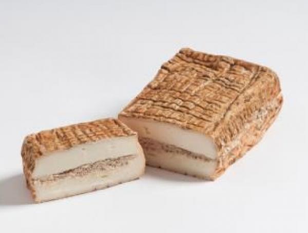 """""""Esculentus"""", formaggio morbido di latte di mucca affinato con crema di noci di tigre - Degust"""