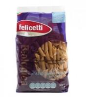 Felicetti BIO Vollkorn Penne Rigate - biologische Nudeln aus Vollkorn-Hartweizengrieß, 500g