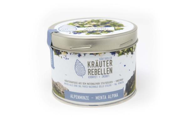 "Alpenminze ""menta alpina"" Kräuteraufguss, 18g - Kräuterrebellen"