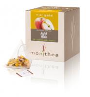 Mongold - Biologischer Tee mit Äpfeln - Monthea Box 10x3g