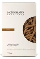 Monograno Felicetti Dinkel Penne Farro aus Italien - Penne Nudeln aus Dinkelmehl, 500g