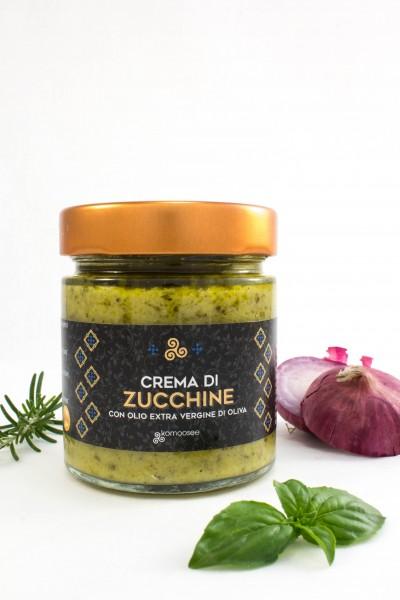 Zucchinicreme, Glas, 190 g - Komoosee