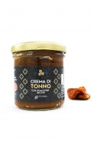 Crema di Tonno con Pomodori Secchi, Vasetto, 130 g - Komoosee