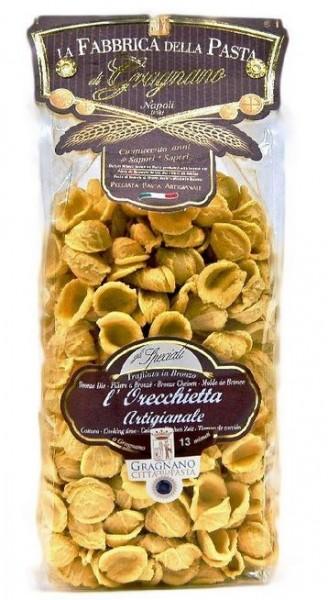 La Fabbrica della Pasta di Gragnano Orecchiette artigianale IGP - handgefertigt, 500g