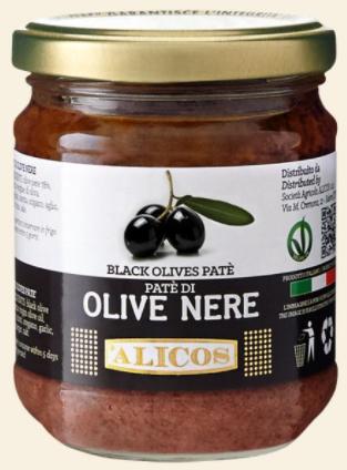 Alicos - Patè di olive nere