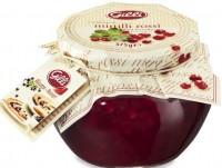 Composta di mirtilli rossi di bosco, 375g vaso premium - Gilli