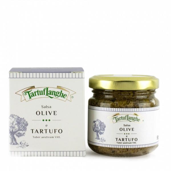 Salsa Mediterranea mit Oliven & Trüffel, 90g oder 180g - Tartuflanghe