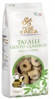 Taralli Classici - klassische Bagels aus Italien mit bestem Olivenöl, 500g - Fiore di Puglia