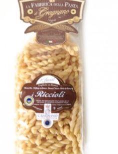 La Fabbrica della Pasta di Gragnano Riccioli IGP - fantastische Nudeln aus Italien, 500g