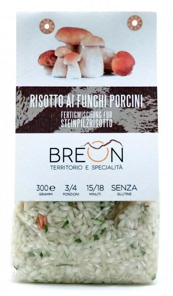 Breon Steinpilzrisotto - fertige Mischung für Risotto mit Steinpilzen, 300g