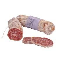 Klassische Salami aus Schweinefleisch, 200g, Rohwurst gelagert - Breon Bozen