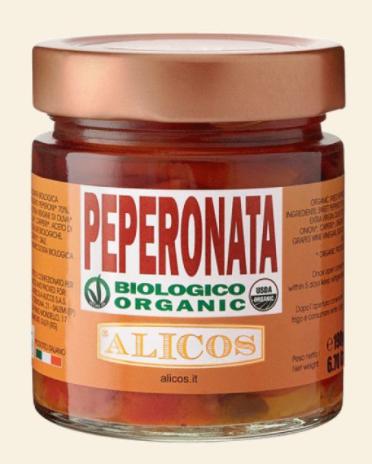 Peperonata, 190g - Alicos