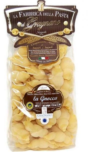 La Fabbrica della Pasta di Gragnano La Gnocca IGP - leckere Nudeln aus Neapel, 500g