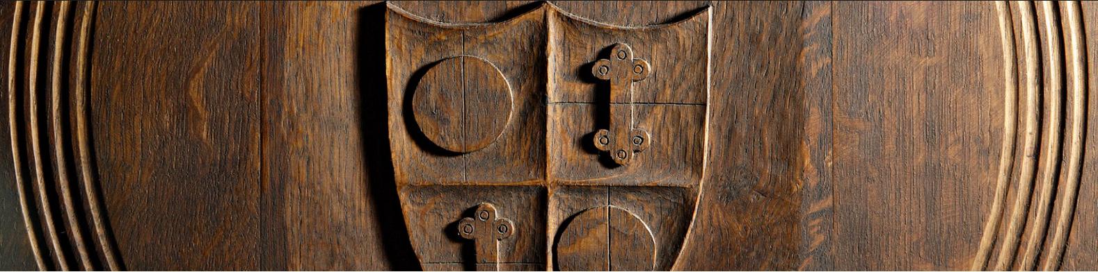 Holzfass-Inschrift
