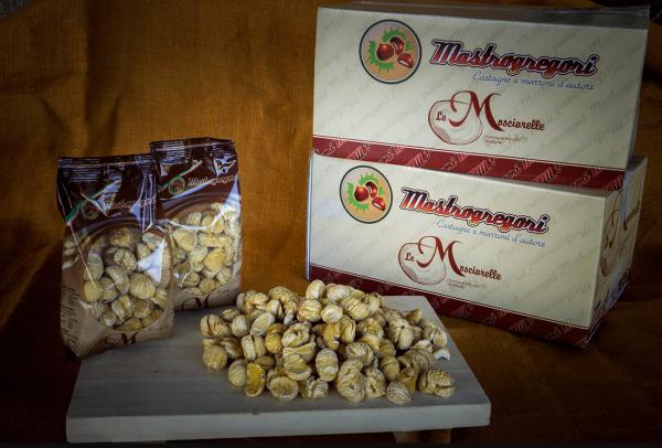 """Le Mosciarelle"" getrocknete weich Kastanien 200 g - Mastrogregori"