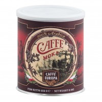 Moka 100% Arabica, gemahlen; in Dose, 250 g - Caffè Europa