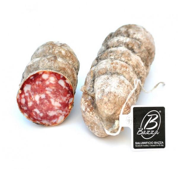 Salami aus Schweinefleisch mit Naturkräutern, ca.600 g - Bazza