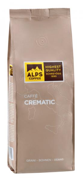 ALPS COFFEE Kaffebohnen Crematic - Kaffebohnen für Café Crema 1Kg