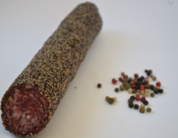 Raich Speck Pfeffersalami - Salami aus Südtirol, ca.260g