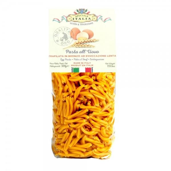 Caserecce all'uovo 500 g - Maestri Artigiani Italiani