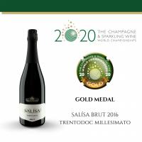 Salìsa Brut Millesimato, Trento DOC, 2016 - Villa Corniole