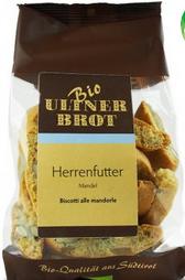 Ultner Brot BIO Herrenfutter Mandel - Kekse mit Mandeln, 175g