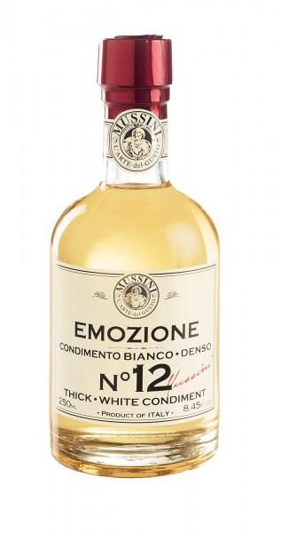 Weißer Balsamicoessig aus Modena Emozione N°12 - Acetaia Mussini