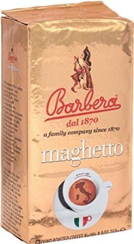 Barbera Maghetto - Excellente Kaffeemischung aus 5 verschiedensten Bohnen, 250g
