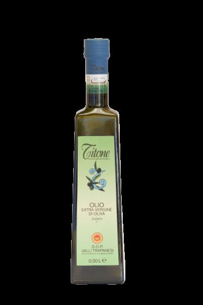 Valli Trapanesi DOP Olio extra vergine d'oliva BIO 0.25 L - Azienda Agricola Biologica Titone