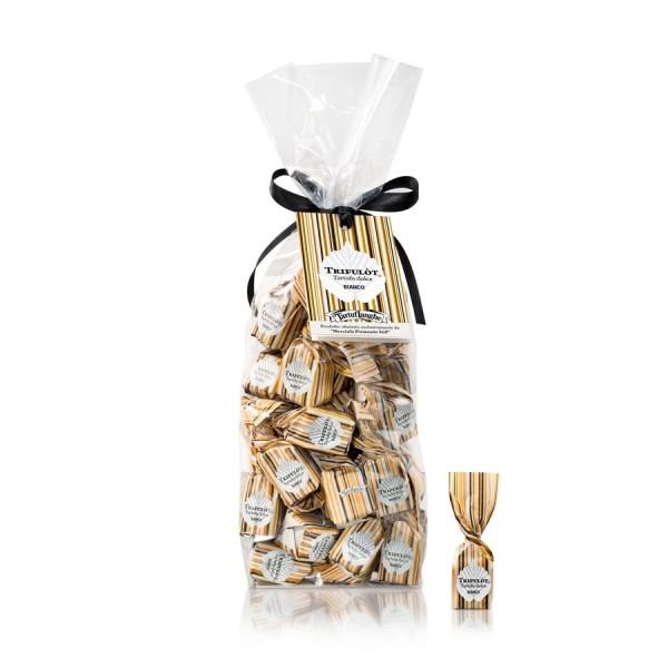 Tartuflanghe Trifulot - süße weiße Trüffel-Pralinen mit der Haselnuss Piemont IGP, 200g
