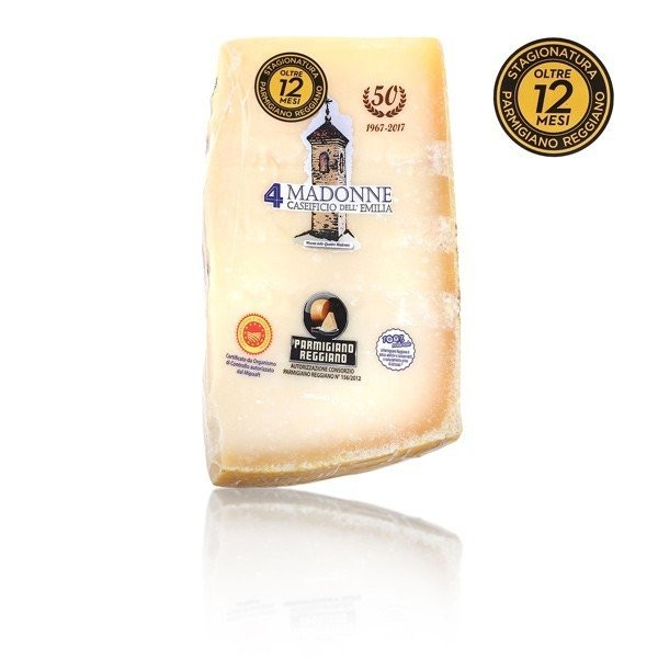 Parmigiano Reggiano über 12 Monate