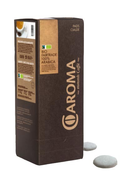 Kaffeepads Espresso Bio Fairtrade - 100% Arabica E.S.E. 25 Stück
