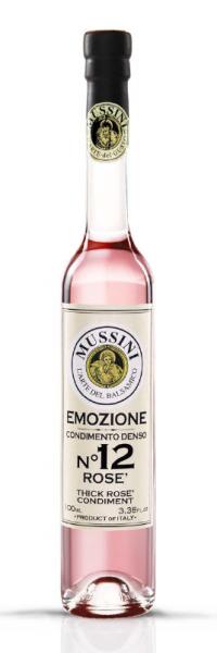 Condimento Balsamico Rosé Emozione N°12, 100 ml - Acetaia Mussini