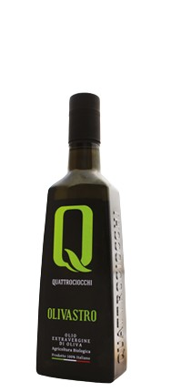 Olivastro Olio extra vergine d'oliva 0.5 L - Quattrociocchi