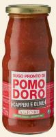 Tomatensoße mit Kapern & Oliven BIO 350g - Alicos