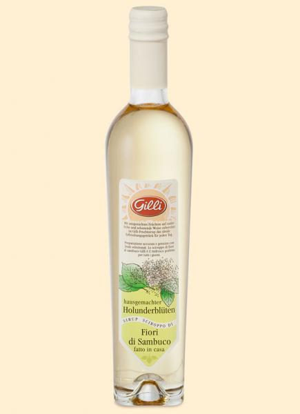 Gilli klassischer Holunderblüten Sirup - Der perfekte Durstlöscher aus Südtirol, 500ml