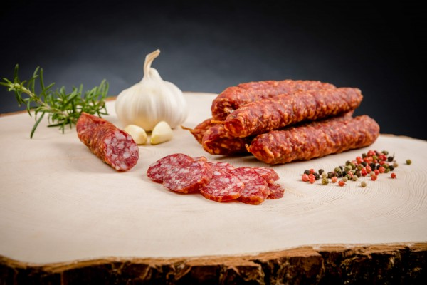 Salsicca affumicata / Kaminwurz venostana ca. 340g - Macelleria Mair