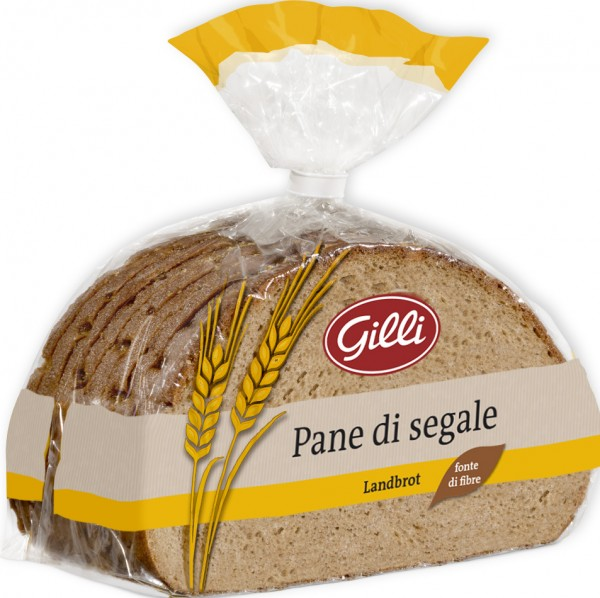 Pane di segale, affettato, 500g - Gilli