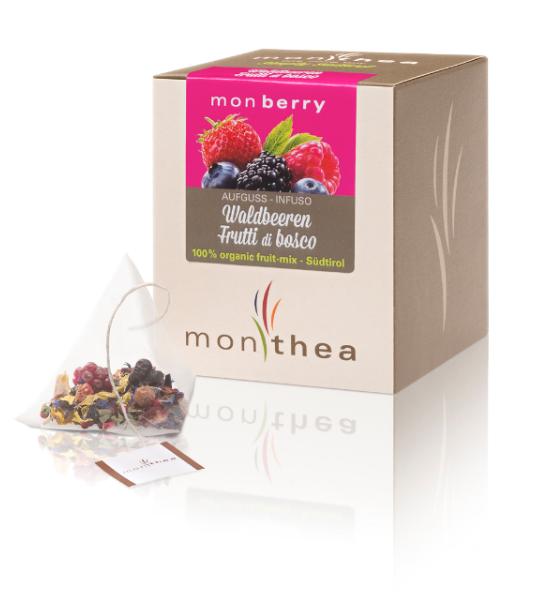 Infuso ai frutti di bosco Monberry BIO - Monthea