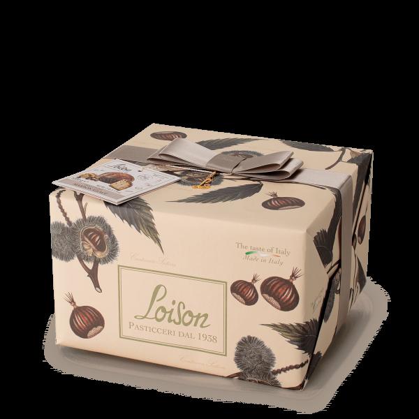 Panettone Marron Glacé, 1 kg - Loison