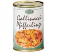 Pfifferlinge eingelegt in Wasser, 0,5g oder 1kg - Gilli Food