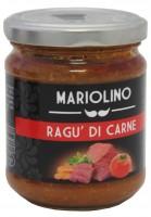 Ragù di carne, salsa di pomodoro con carne macinata, 314 ml - Mariolino
