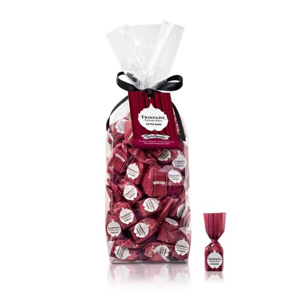 Tartuflanghe Trifulot - süße, extra dunkle Trüffel-Pralinen aus Italien, 200g