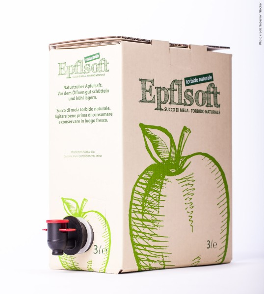Succo di mela torbido naturale 3 L in bag in box - Epflsoft
