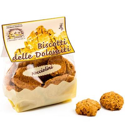 Fiori Biscotti delle Dolomiti Nocciolini - Haselnusskekse aus den Dolomiten, 300g