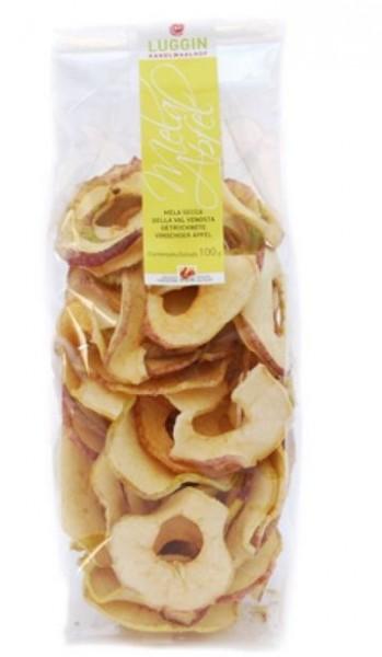 Luggin Kandlwaalhof Getrocknete BIO-Äpfel - Getrocknete Vinschger BIO-Äpfel , 50g o. 100g