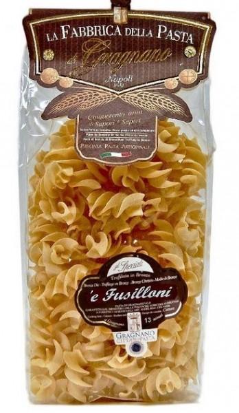 La Fabbrica della Pasta di Gragnano Fusilloni IGP - leckere Nudeln aus Italien, 500g