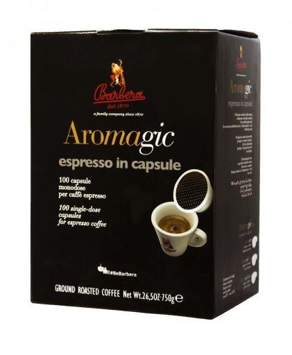 aromagic espresso kapseln 100 st ck barbera vinusta deutschland. Black Bedroom Furniture Sets. Home Design Ideas